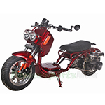 "MC-Q005 50cc Maddog Scooter with Automatic Transmission and Electric/Kick Starter! 12"" Big Tires!"