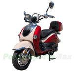 "MC-M06 150cc Moped Scooter with Retro Stylish Design, 10"" Wheels, Electric/Kick Start! Fully Assembled In Crate! Free Shipping!"