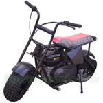 "TrailMaster Storm 196cc Mini Bike with Centrifugal Clutch, Chain Drive, Recoil Cord Start! 6"" Wheels!"