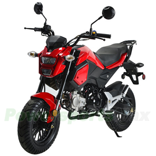 X-PRO 125cc Motorcycle Adult Gas Motorcycle Dirt Motorcycle Street Bike Motorcycle Bike Full Assembeld Red