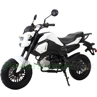125cc Street Motorcycle with Manual Transmission