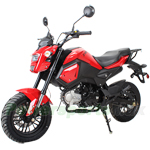 "MC-N020 X-PRO Phoenix 125cc Vader Motorcycle with Manual Transmission, Electric Start! Big 12"" Wheels!"