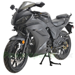 "MC-N021 125cc Street Motorcycle with Manual Transmission, Electric Start! 16"" Rim Wheels!"