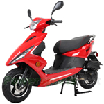 "X-PRO Bali 150cc Moped Scooter with 10"" Wheels! Electric Start, Large Headlights! Fully Assembled In Crate!"