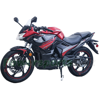 200cc Street Motorcycle with 6-Speed Manual Transmission, Elect