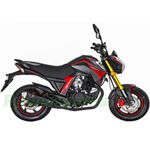 "Lifan KP MINI 150cc Street Motorcycle with 5-Speed Manual Transmission, Electric Start! 12"" Wheels! Fully Assembled In Crate!"