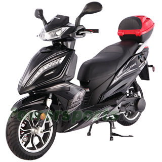 150cc gas power scooters,150cc Moped Scooter with CVT Fully