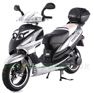 150cc fast gas moped,Moped Scooter with CVT Fully Automatic