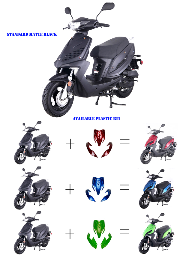 50cc Scooters,50cc Moped Scooter , fully automatic ...
