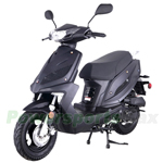 "MC-T21 50cc Moped Scooter with fully automatic Transmission, 10"" Wheels! Changeable color panels!"