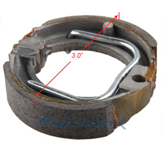 Brake Shoes Pads for Yamaha PW50 PW 50 Y-Zinger 1981-2009