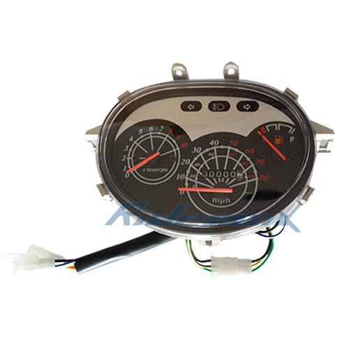 Speedometer Light Gas Gauge Assembly For 50cc Amp 150cc Scooters