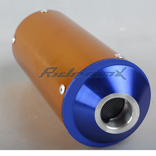 X-PRO Performance Exhaust Muffler Pipe Assembly for 70cc 110cc 125cc Dirt Bikes