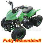 "ATV-F027-R874 60cc Kids ATV with Automatic Transmission, Electric Start! Disk Brakes! 6"" Tires! Refurbished, Fully Assembled!"