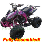 "ATV-G005-R877 Apollo Blazer 9 125cc ATV with Automatic Transmission w/Reverse, Electric Start, Big 19""/18"" Tires! Refurbished, Fully Assembled!"