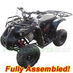 "ATV-H07-R880 X-PRO Eagle 125cc ATV with Automatic Transmission w/Reverse, Electric Start, Remote Control, Big 16"" Tires! Zongshen Brand Engine! Refurbished, Fully Assembled!"