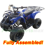 "ATV-H07-R881 X-PRO Eagle 125cc ATV with Automatic Transmission w/Reverse, Electric Start, Remote Control, Big 16"" Tires! Zongshen Brand Engine! Refurbished, Fully Assembled!"