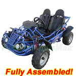 GK-M10-R734 TrailMaster MID XRX/R 200cc Kid Middle Size Go Kart with Automatic CVT Transmission w/Reverse, Refurbished, Almost Assembled!