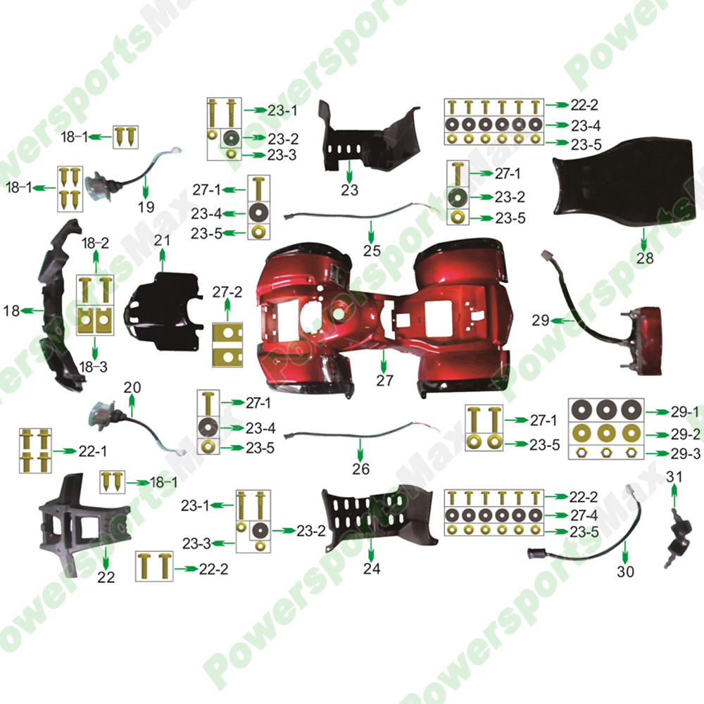 Coolster Atvs Parts
