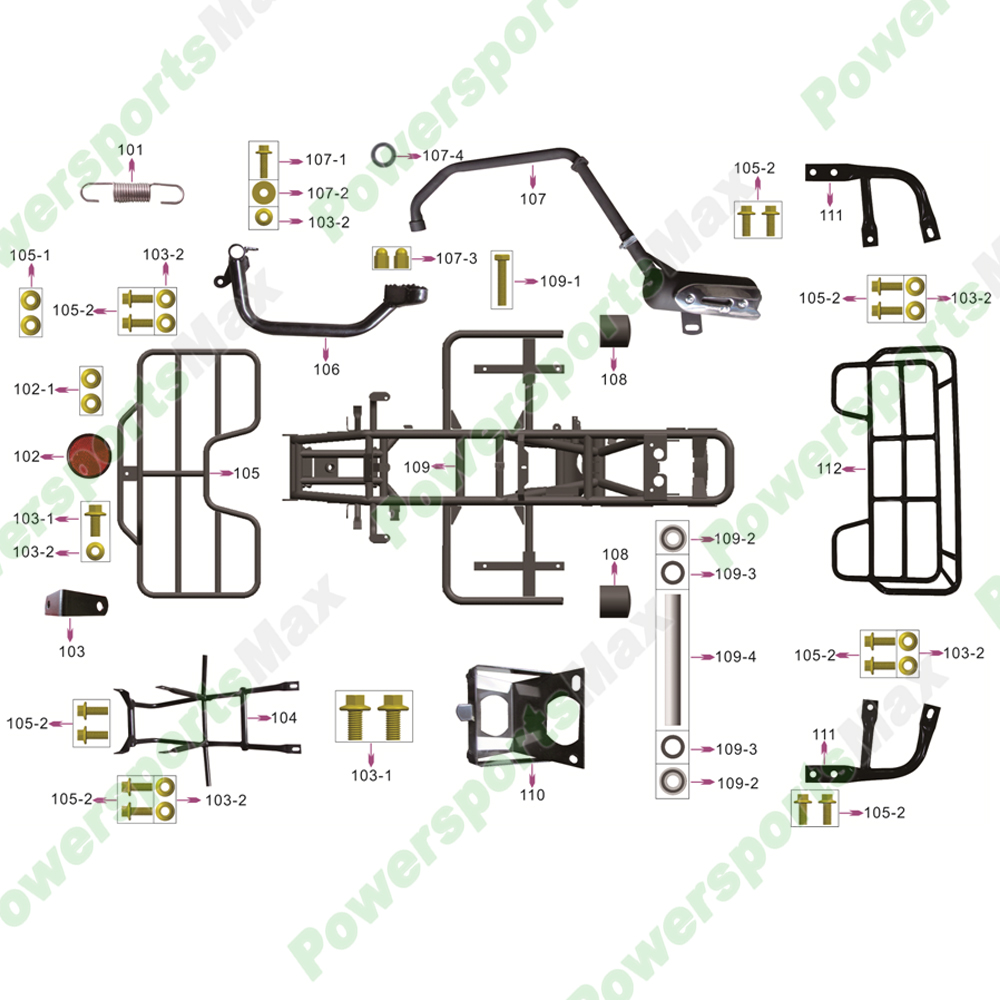 wiring diagram for 90cc atv 3125 coolster atvs parts