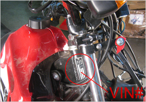 suzuki dirt bike serial number lookup